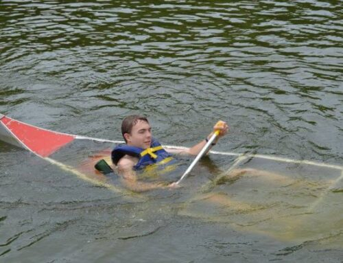 When Helping Others, Don't Capsize Your Canoe