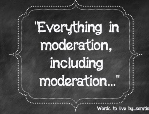 Everything in Moderation… Including Moderation
