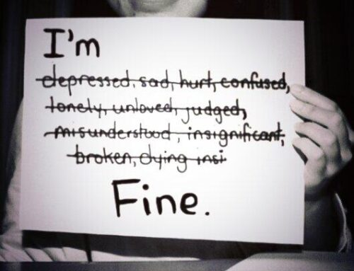 FINE? Feelings Inside Not Expressed
