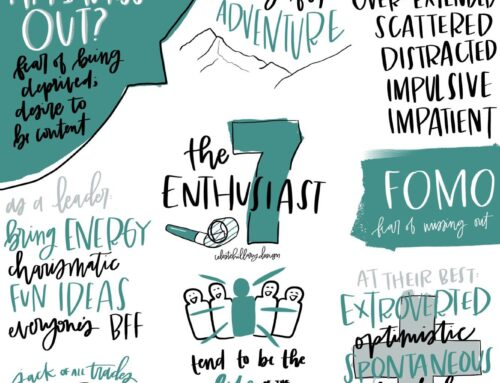 A Day in the Life of an Enneagram 7: Jenn H.